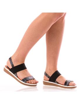 Sandale Dama SummerTalya Negru Dep