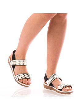 Sandale Dama SummerDely Alb Dep-2