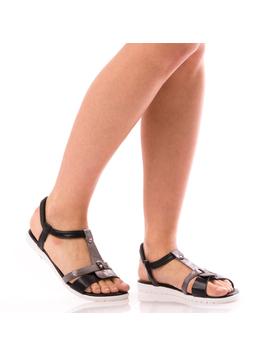 Sandale Dama SummerBenny Negru Dep