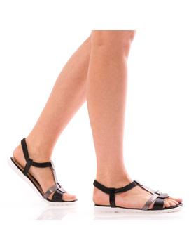 Sandale Dama SummerBenny Negru Dep-2