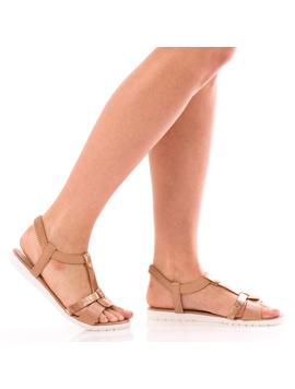 Sandale Dama SummerBenny Bej Dep
