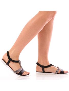 Sandale Dama SummerDonnie Negru Dep