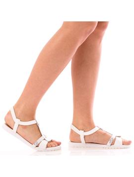 Sandale Dama SummerBenny Alb Dep