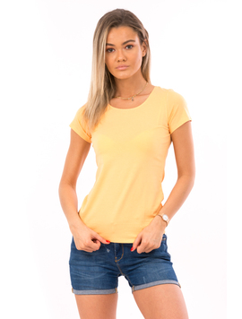 Tricou Dama SimpleExercise Orange
