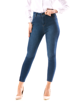 Jeans Dama SimpleClasics Bleumarin