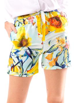 Pantaloni Scurti Dama SummerStart Turcoaz-2