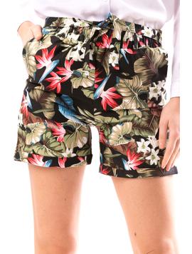 Pantaloni Scurti Dama SummerStart Negru-2