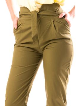 Pantaloni Dama RmyREwTre Kaki-2