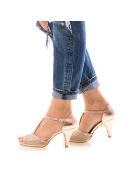 Sandale Dama EllyOne Bej-2