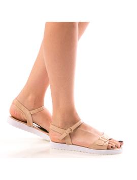 Sandale Dama KresyTrow Crem-2