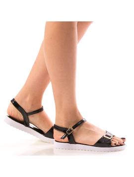 Sandale Dama KresyTrow Negru Dep-2