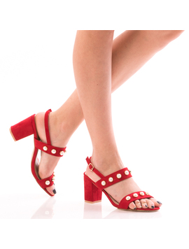 Sandale Dama PrettyOne Rosu Dep