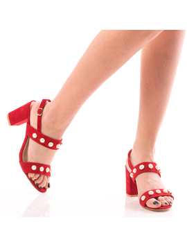 Sandale Dama PrettyOne Rosu Dep-2