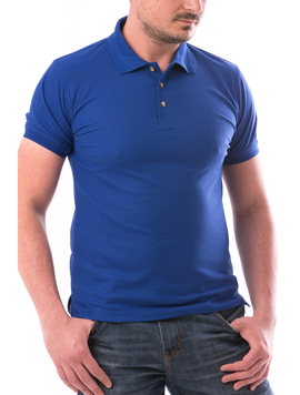 Tricou Polo Barbatesc CasualFit Albastru