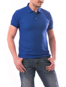 Tricou Polo Barbatesc CasualFit Albastru-2