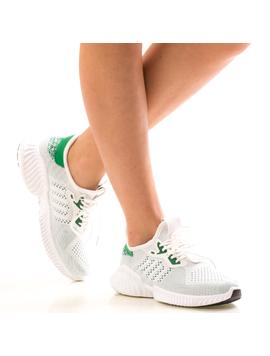 Adidasi Dama RunForFree Alb Dep-2