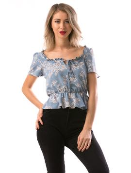Bluza Dama Shorty Bleu