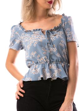 Bluza Dama Shorty Bleu-2