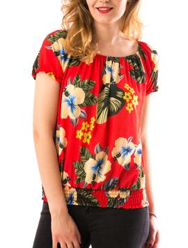 Bluza Dama DownEls Rosu-2