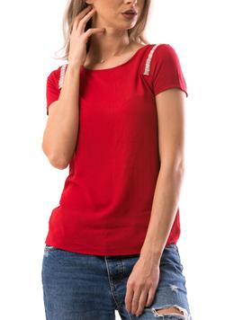 Bluza Dama ShoulderStripe Rosu-2