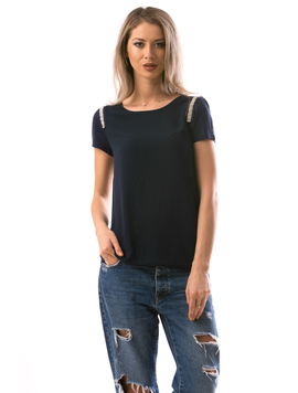 Bluza Dama ShoulderStripe Bleumarin