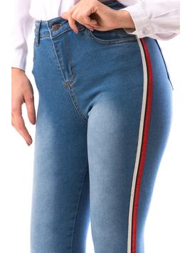 Jeans Dama OneIngrid Bleumarin-2