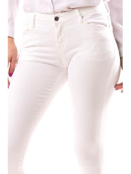 Jeans Dama JeannYes Alb-2