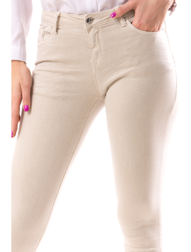 Jeans Dama JeannYes Bej-2