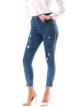 Jeans Dama TripleVip Bleumarin