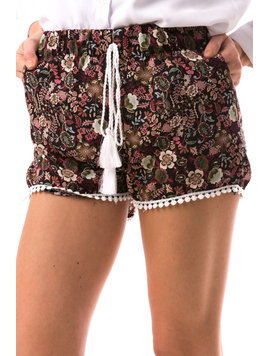 Pantaloni Scurti Dama LaceWear Grena-2
