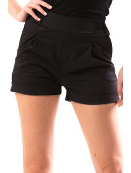 Pantaloni Scurti Dama DownBack Negru-2