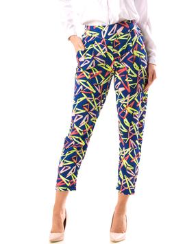 Pantaloni Dama FroTYu Albastru