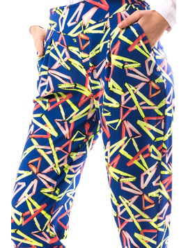 Pantaloni Dama FroTYu Albastru-2