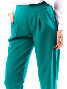 Pantaloni Dama FroYu Verde-2