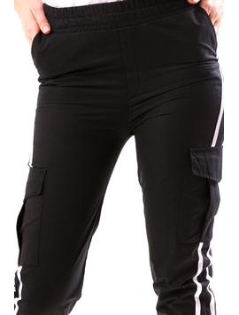 Pantaloni Dama SportyFi Negru-2