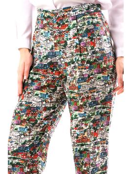 Pantaloni Dama SprinG16 Alb-2