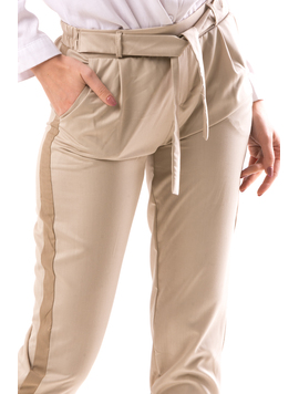 Pantaloni Dama BailOne Bej-2