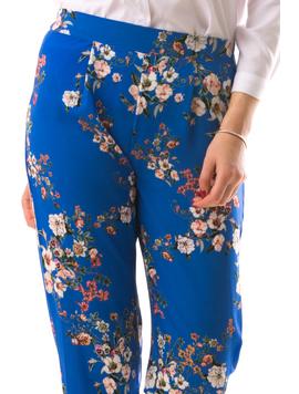 Pantaloni Dama CleopatraThree Albastru-2