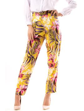 Pantaloni Dama AnionaOne Galben