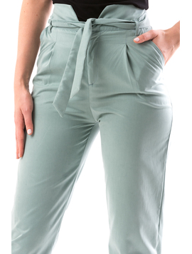 Pantaloni Dama KleoPetra Turcoaz-2