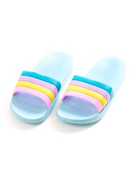 Papuci Dama SummerTwo Bleu Dep