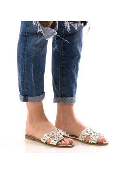 Papuci Dama GrewStre Galben dep