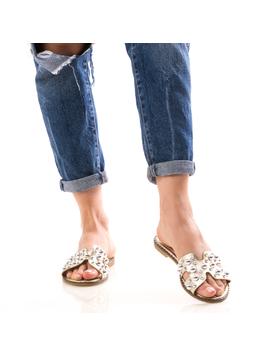 Papuci Dama GrewStre Galben dep-2