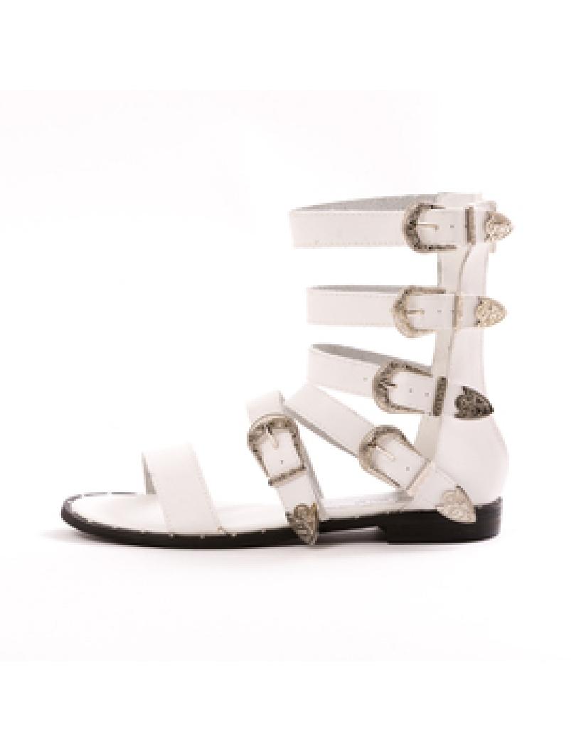 Sandale Dama GladiatorWen Alb Dep