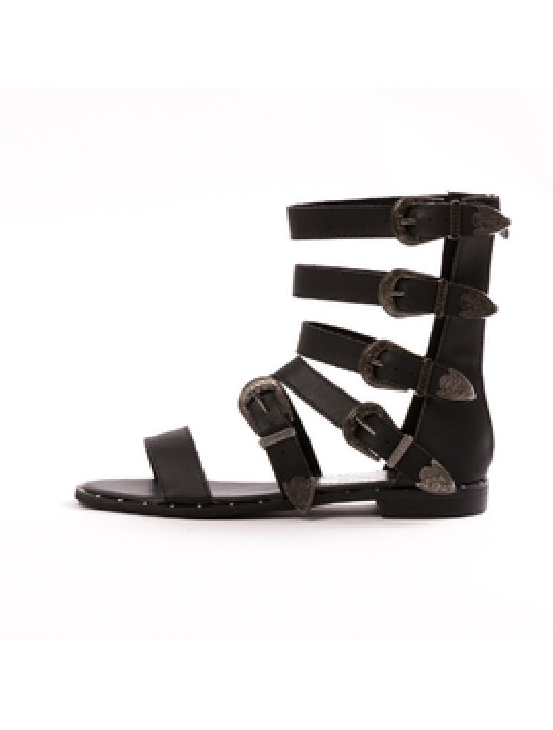 Sandale Dama GladiatorWen Negru Dep