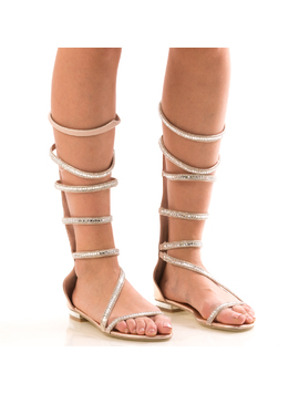 Sandale Dama LongChampaqne Roz Dep-2