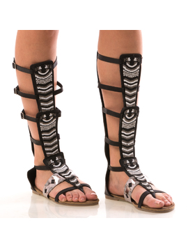 Sandale Dama LongCham Negru