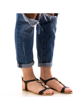 Sandale Dama FrontDiamond Negrudep