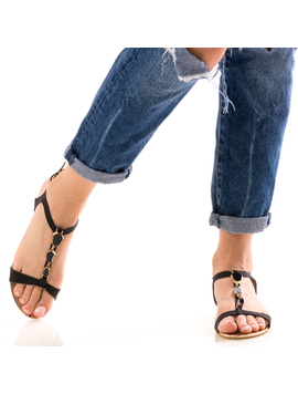 Sandale Dama FrontDiamond Negru-2
