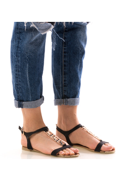 Sandale Dama FrontGold Negrudep